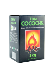 Węgiel do shishy kokosowy Tom Cococha Green 1kg