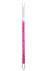 Glass mouthpiece Kaya Slight Line XL Paint pink